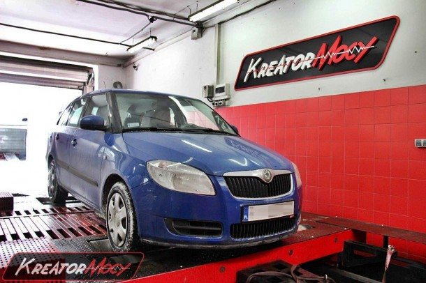 projekt usuni cie dpf skoda fabia ii 1 4 tdi 80 km kreator mocy. Black Bedroom Furniture Sets. Home Design Ideas