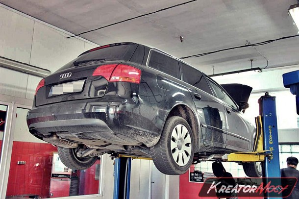 audi a4 b7 2 0 tdi 140 km usuwanie dpf kreator mocy. Black Bedroom Furniture Sets. Home Design Ideas