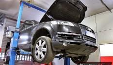 Audi Q7 3.0 TDI 233 KM – zapchany DPF