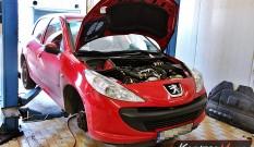 Peugeot 206+ 1.4 HDI 68 KM – usuwanie DPF