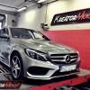 Mercedes W205 C 200 2.0T 184 KM – modyfikacja mocy