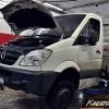 Mercedes Sprinter 2.2 CDI 150 KM – usuwanie DPF