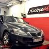 Lexus IS200d 2.2 D4D 150 KM – podniesienie mocy