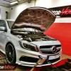 Mercedes W176 A45 AMG 2.0T 360 KM – modyfikacja mocy