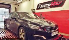 Peugeot 508 2.0 BlueHDI 150 KM – podniesienie mocy