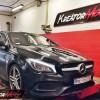 Mercedes C117 CLA220 2.0T 184 KM – modyfikacja mocy
