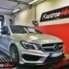 Mercedes C117 CLA 45 AMG 2.0T 381 KM – modyfikacja mocy