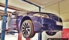 BMW F10 535d 3.0d 313 KM – usuwanie DPF