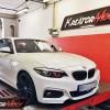 BMW F22 220i 2.0T B48 184 KM – podniesienie mocy
