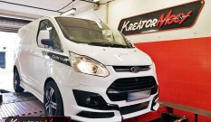 Ford Transit Custom 2.0 EcoBlue 130 KM (SID211) – modyfikacja mocy
