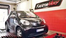 Toyota iQ 1.4 D4D 90 KM – podniesienie mocy