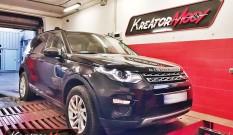 Land Rover Discovery Sport 2.0 Si4 240 KM – podniesienie mocy