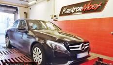 Mercedes W205 C 160 1.6T 129 KM – podniesienie mocy