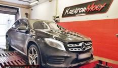 Mercedes X156 GLA 180 1.6T 122 KM – podniesienie mocy