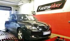 Mazda 3 1.6d 90 KM – podniesienie mocy
