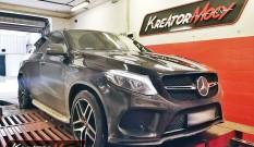 Mercedes GLE 43 AMG 3.0T 390 KM – podniesienie mocy
