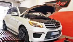 Mercedes W166 ML63 AMG 557 KM – podniesienie mocy
