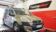 Peugeot Partner 1.6 BlueHDI 100 KM – podniesienie mocy