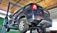 HONDA CRV 2.2 I-CTDI 140 KM – usuwanie DPF
