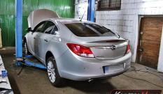Opel Insignia 2.0 CDTI 130 KM – usuwanie DPF