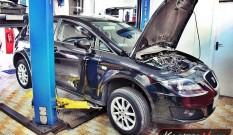 Seat Leon 1P 1.6 TDI 105 KM – usuwanie DPF