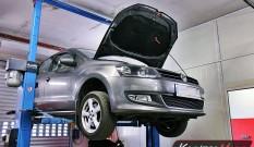 VW Polo 6R 1.6 TDI 105 KM – usuwanie DPF