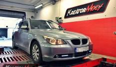 BMW 5 E61 520d 150 KM – podniesienie mocy
