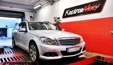 Mercedes W204 C 180 CDI 120 KM – podniesienie mocy