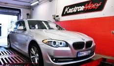 BMW 5 F11 525d 204 KM – podniesienie mocy