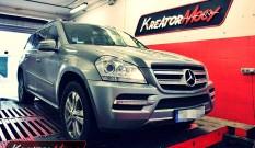 Mercedes X164 GL 350 CDI 211 KM – podniesienie mocy