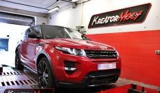 Range Rover Evoque 2.2 SD4 190 KM – podniesienie mocy