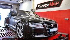 Audi A8 4.2 TDI CR 350 KM – podniesienie mocy
