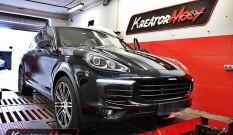 Porsche Cayenne 3.0d 262 KM – podniesienie mocy