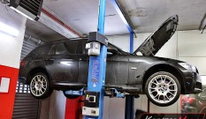 BMW E91 325d 197 KM – usuwanie DPF