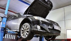 Lexus IS220d 177 KM – usuwanie DPF