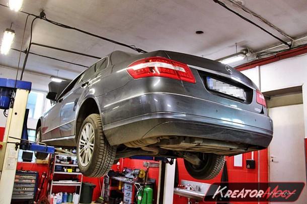 Problem z filtr DPF Mercedes E W212 2 2 CDI 136 KM | Kreator Mocy