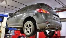 Nissan Murano 2.5 DCI 190 KM – usuwanie DPF