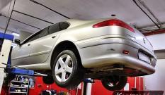 Peugeot 607 2.7 HDI 204 KM – usuwanie DPF