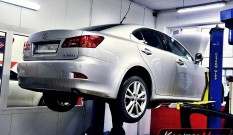 Lexus IS220d 2.2 D-CAT 177 KM – zapchany DPF