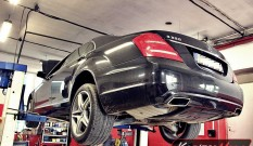 Mercedes W221 S 350 CDI 258 KM – usuwanie DPF