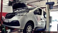 Renault Trafic 1.6 DCI 115 KM – usuwanie DPF