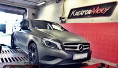 Mercedes W176 A 180 1.6T 122 KM – podniesienie mocy