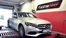 Mercedes W205 C 180 1.6T 156 KM – podniesienie mocy