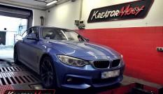 BMW F32 420i 2.0T N20 184 KM – podniesienie mocy