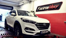 Hyundai Tucson II 1.7 CRDI 115 KM – remap