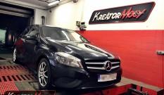 Mercedes W176 A180 1.6 Turbo 122 KM – modyfikacja mocy
