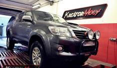 Toyota Hilux 3.0 D4D 171 KM (manual) – modyfikacja mocy