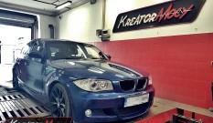 BMW E87 120d 2.0d 163 KM – podniesienie mocy