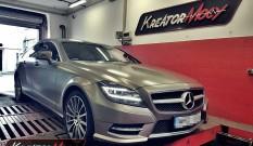 Mercedes C218 CLS Shooting Brake 350 CDI 265 KM – remap