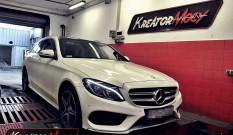 Mercedes W205 C 200 2.0 Turbo 135 kW 184 KM – remap
